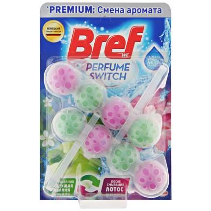 Средство чистящее для унитаза Bref Perfume Switch Цветущая яблоня и Лотос 2шт*50г