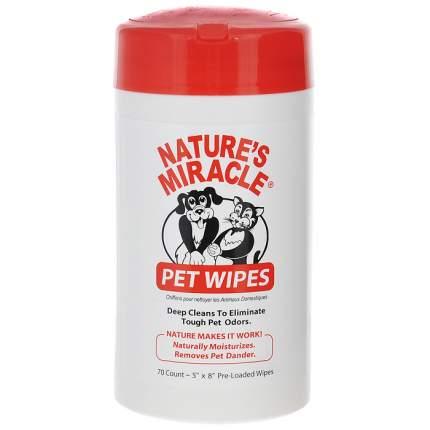 Влажные очищающие салфетки, для собак и кошек 8IN1