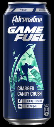 Напиток Adrenaline Game Fuel энергетический 449 мл