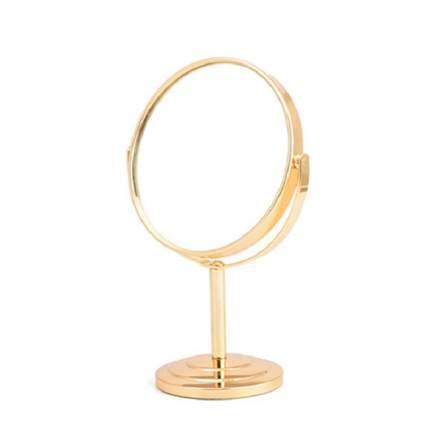 Зеркало на подставке, в золотом цвете,12,5х21,5х8,5 см, VenusShape VS-MIR-10