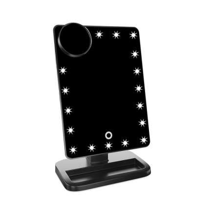 Косметическое зеркало с Bluetooth колонкой, 30х11х18 см, VenusShape VS-BTMIR-02