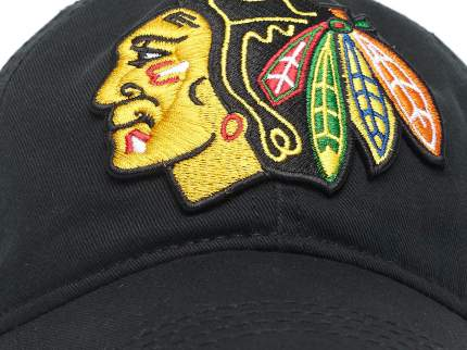 Бейсболка Atributika&Club Чикаго Блэкхокс 31128 черная