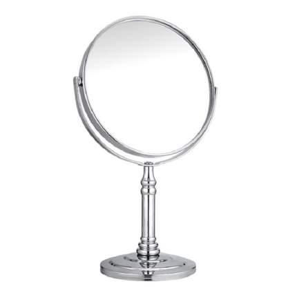 Зеркало на подставке, в серебряном цвете, 12,5х21,5х8,5 см, VenusShape VS-MIR-09