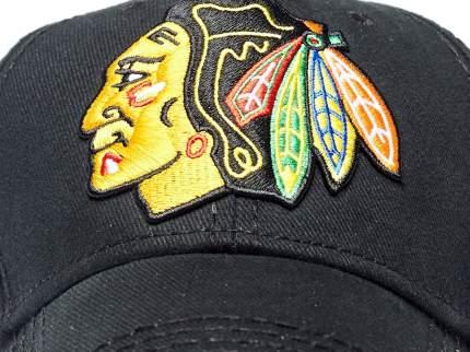 Бейсболка Atributika&Club Чикаго Блэкхокс 29091 черная