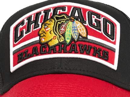 Бейсболка Atributika&Club Чикаго Блэкхокс 28160 черная