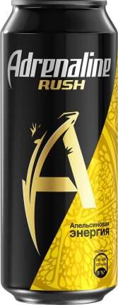 Напиток Adrenaline Juicy энергетический Апельсиновая энергия 449мл