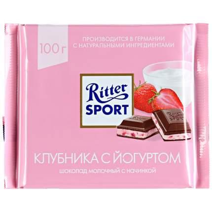 Шоколад Ritter Sport Молочный Клубника с йогуртом 100г