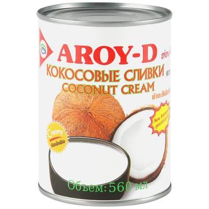 Кокосовые сливки Aroy-D 70% 560мл