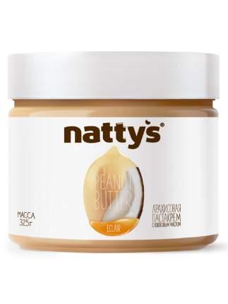Паста Nattys Eclair арахисовая с кокосовым маслом и мёдом