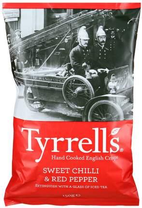 Чипсы Tyrrells с красным перцем и перцем чили 150г