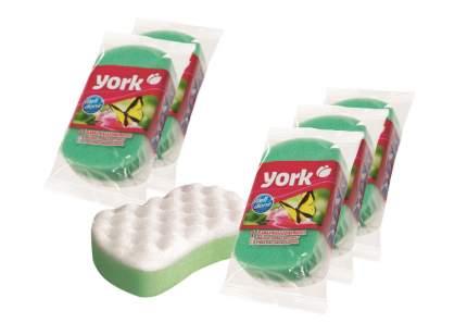"""Губка для ванны """"YORK """"массажная бабочка 1 шт. (набор из 5штук)"""