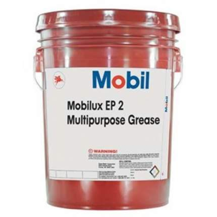 Смазка MOBIL Mobilux EP 2 пластичная 18 кг