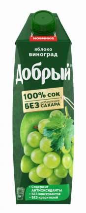 Сок Добрый Яблоко-виноград 1л
