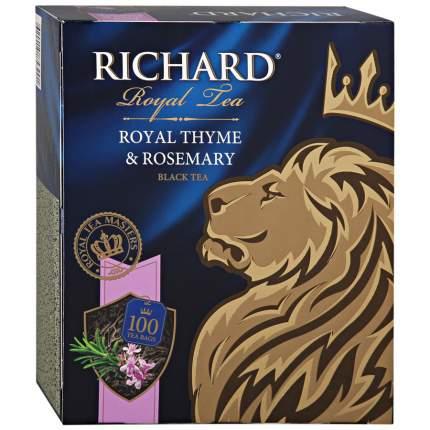 Чай Richard Королевский чабрец и розмарин 100 пак