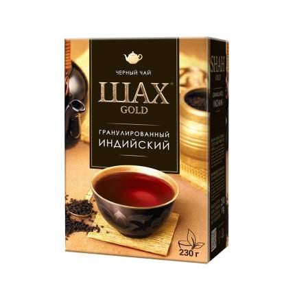 Чай черный листовой гранулированный Шах Gold Индийский 230 г