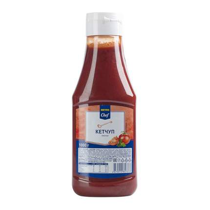 Кетчуп Chef томатный 1 л