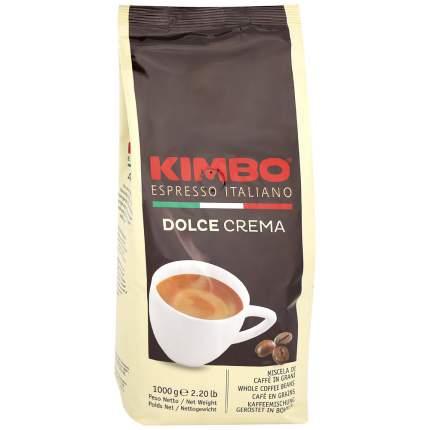 Кофе Kimbo Dolce Crema натуральный жареный в зернах пакет 1 кг