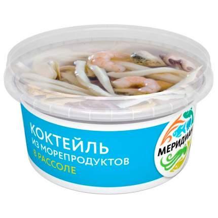 Коктейль Меридиан из морепродуктов в рассоле 430 г