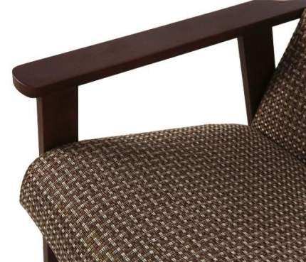Кресло для отдыха Вилора, рогожка 051-4, Орех