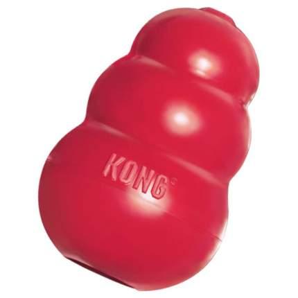 Игрушка для лакомств для собак KONG Classic, красный, длина 8.5 см
