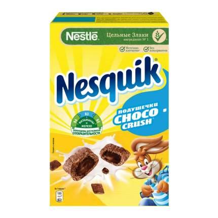 Подушечки  Nestle nesquik choco crush с шоколадной начинкой 220 г