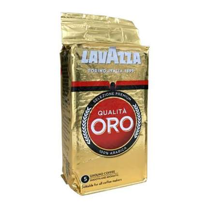 Кофе LavAzza Qualita ORO натуральный жареный молотый 125 г