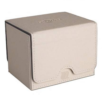 Blackfire convertible premium deck box single horizontal 100+ standard size cards white