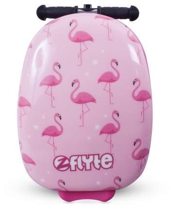 Самокат-чемодан Zinc Фламинго