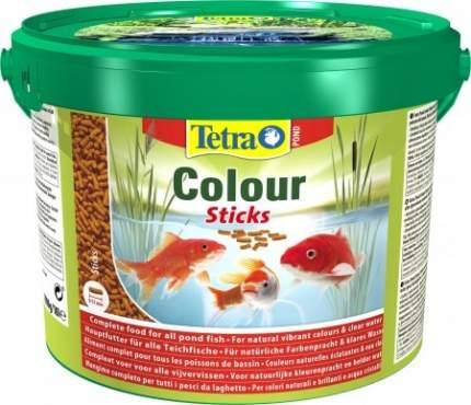 Корм для прудовых рыб Tetra Pond Color Sticks, для окраски, палочки, 10 л