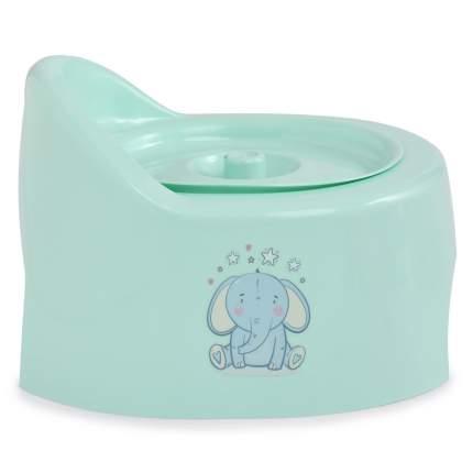 Горшок детский туалетный Полимербыт с крышкой, в ассортименте