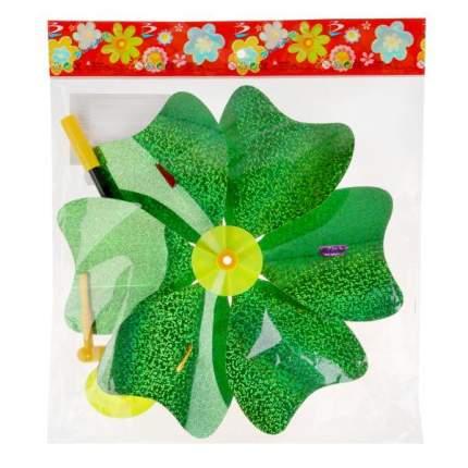 Вертушка Shantou Gepai Цветок с бабочками 24 см, в ассортименте