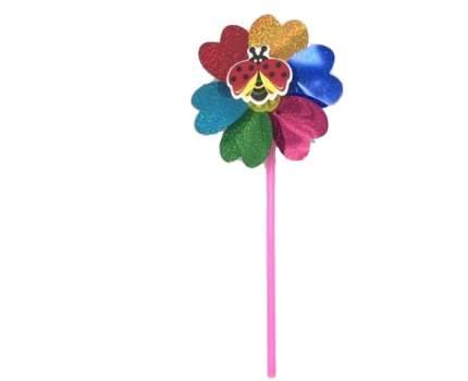 Ветрячок Junfa Toys Цветочек малый с насекомым