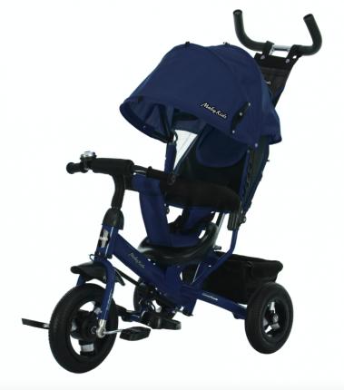 Велосипед трехколесный Moby Kids Comfort 10x8 AIR, синий