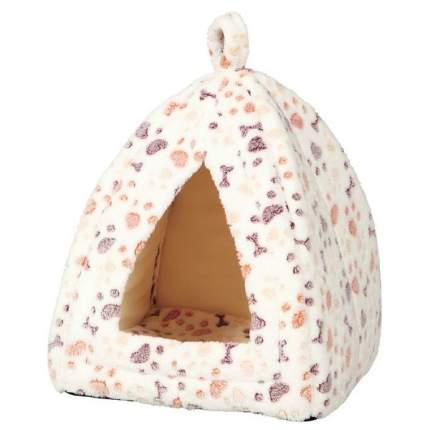 Домик для кошек и собак TRIXIE Lingo пещера, белый, бежевый, 32x32x42см