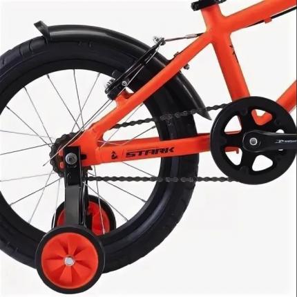 "Велосипед Stark Foxy 16"" Boy 2020 оранжевый"