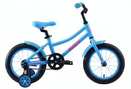 "Велосипед Stark Foxy 14"" Girl 2020 бирюзовый"