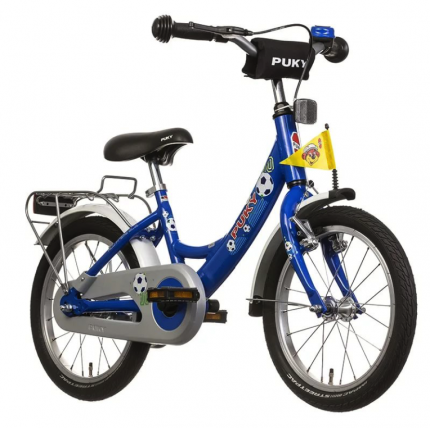 Двухколесный велосипед Puky ZL 16-1 Alu blue football