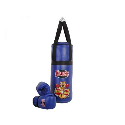 Набор Боксерский Детский Jabb Мешок 50X20См + Пара Перчаток, Синий Je-3060