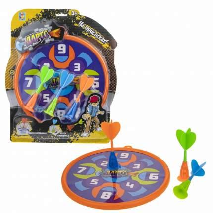 Набор для игры в дартс 1TOY Т17357 на присосках