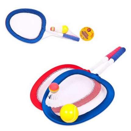 Бадминтон и теннис 2 в 1 Junfa Toys 4 предмета