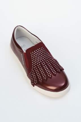 Туфли Зебра цв. бордовый р.34