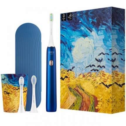 Зубная щетка электрическая Soocas Toothbrush X3U Van Gogh Museum Design Blue