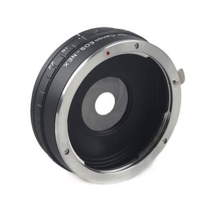 Переходник Fujimi FJAR-EOSNEXAP с Canon EOS на E SONY NEX c диафрагмой