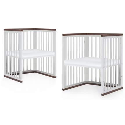 Кровать-трансформер Nuovita Ferrara swing Bianco/Белый
