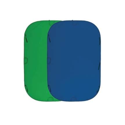 Складной фон хромакей Fujimi FJ 706GB-240/240 синий/зелёный