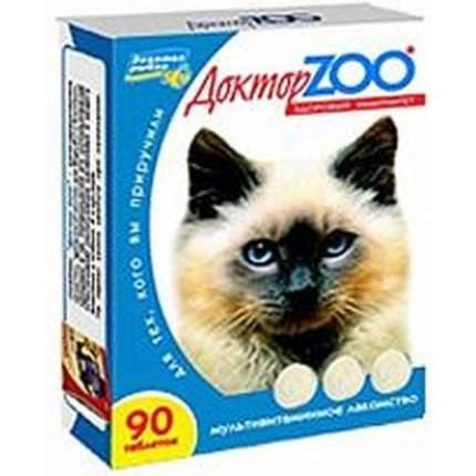 Витаминный комплекс для кошек Доктор ZOO Здоровая кошка, ЗДОРОВЫЙ ИММУНИТЕТ 90 таб