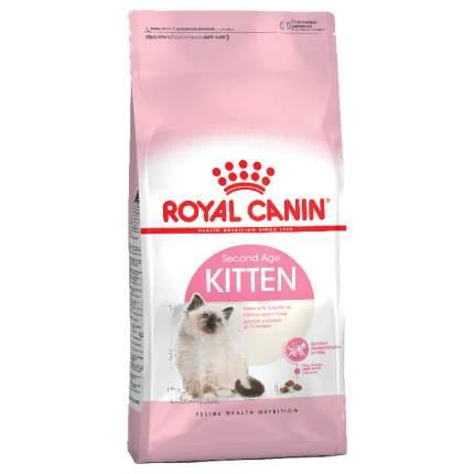 Сухой корм для котят ROYAL CANIN Second Age Kitten, от 4 до 12 месяцев, 2кг