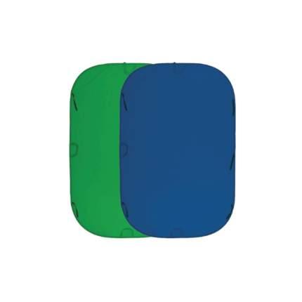 Складной фон хромакей Fujimi FJ 706GB-180/210 синий/зелёный