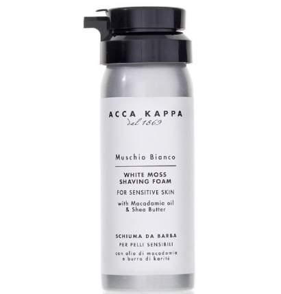 Acca Kappa Muschio Bianco Shaving Foam - Пена для бритья 50 мл/853326