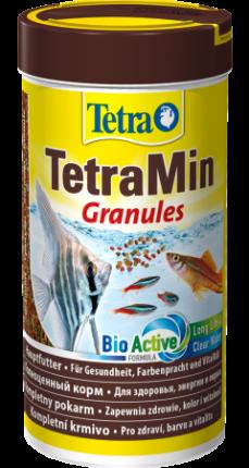 Корм для рыб Tetra Min Granules, гранулы, 500 мл